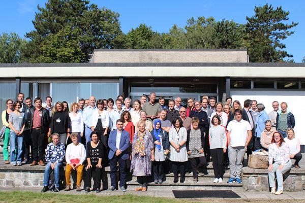 Groupfoto SusCrop Kick-off and workshop September 2019